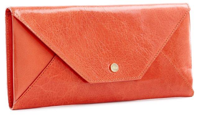 Travel Envelope, Orange