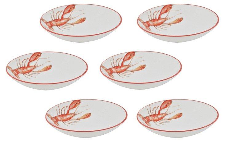 S/6 Red Lobster Pasta Bowls