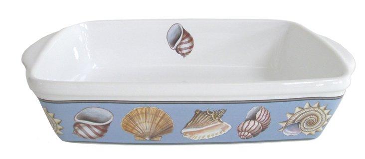 "Oven to Table Seashell Baker, 12"""