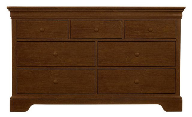 All Seasons Double Dresser, Brown