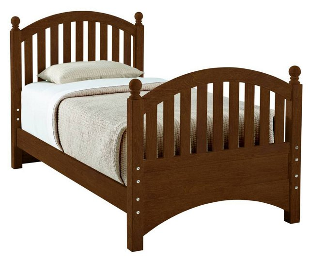 All Seasons Bunkable Bed, Brown, Twin