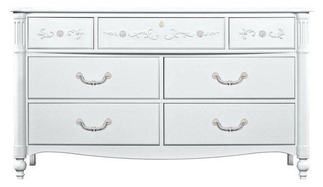 Isabella Double Dresser, White