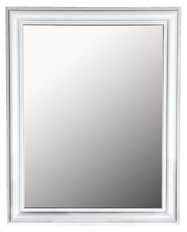 Vertical Mirror, White