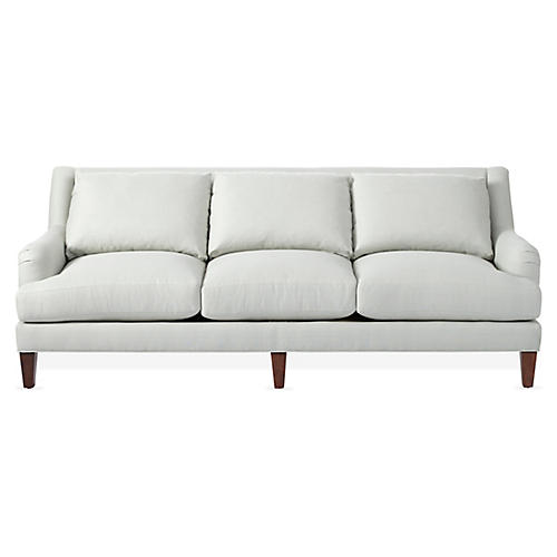 Merrimack Sofa, Sea Glass Linen