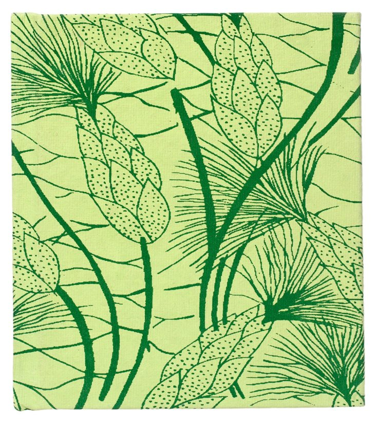 S/2 Large Cotton Journals, Green