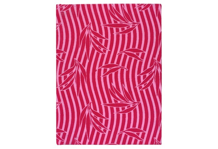 S/2 Large Cotton Journals, Pink