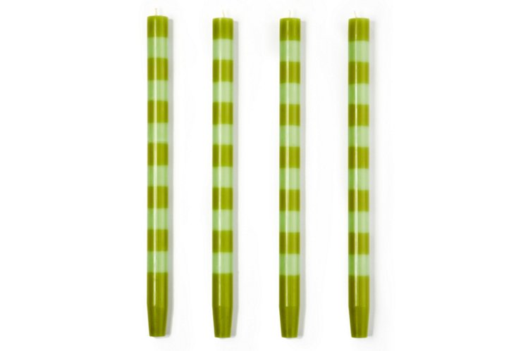 S/4 Wasabi-Mint Tapers