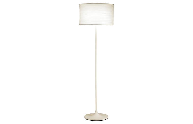 Oslo Floor Lamp, White