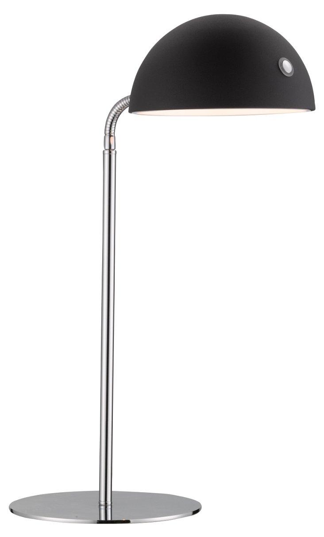 Marcel Desk Lamp, Black/Chrome