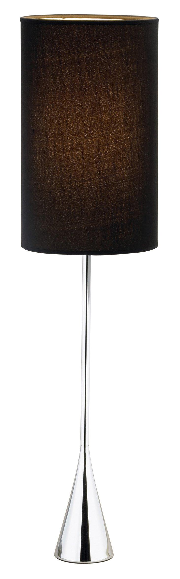 Bella Table Lamp, Chrome