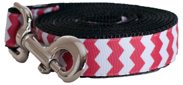 Chevron Lead, Red