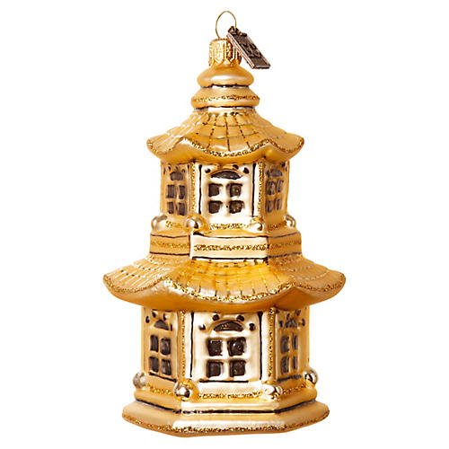 Pagoda Ornament, Gold