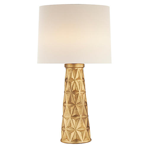 Aligre Table Lamp, Gild