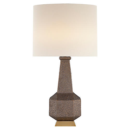 Babette Table Lamp, Burnt Gold