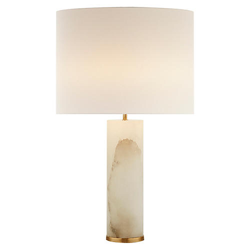 Lineham Table Lamp, Alabaster