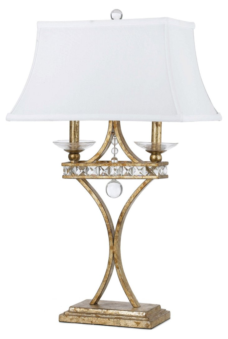 Wylie Table Lamp, Gold