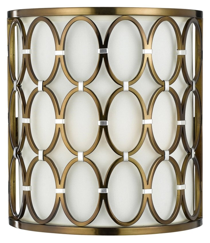 Cosmo Sconce, Satin Brass