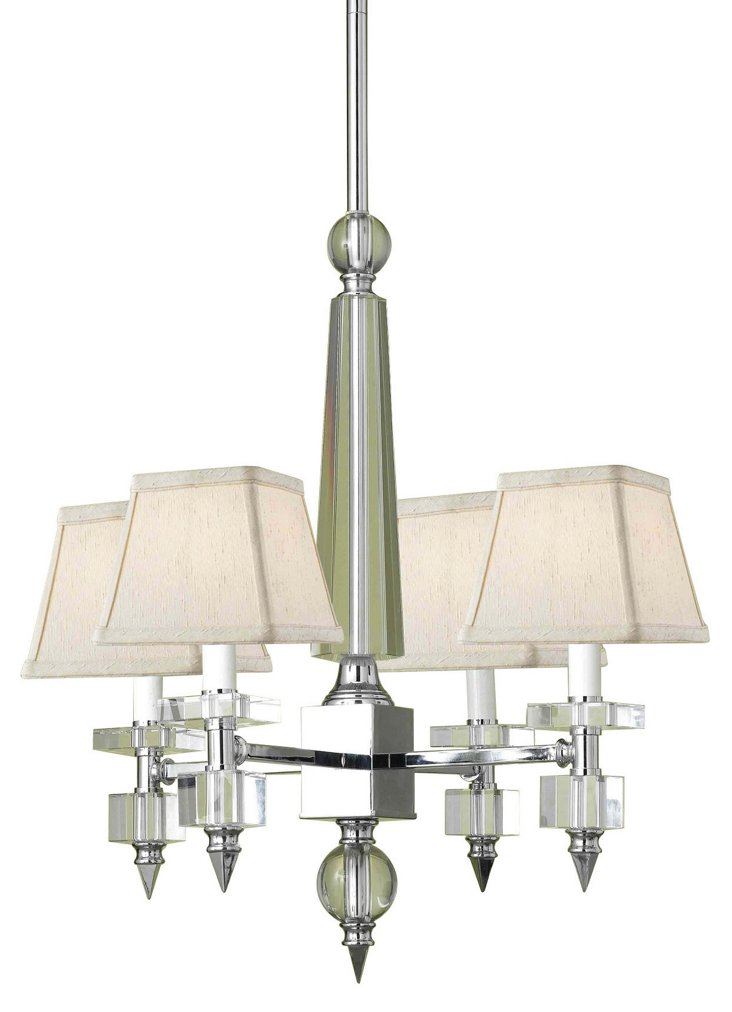 """Cluny 19"""" Chandelier"""