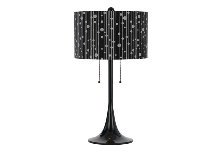 Drizzle Table Lamp, Black