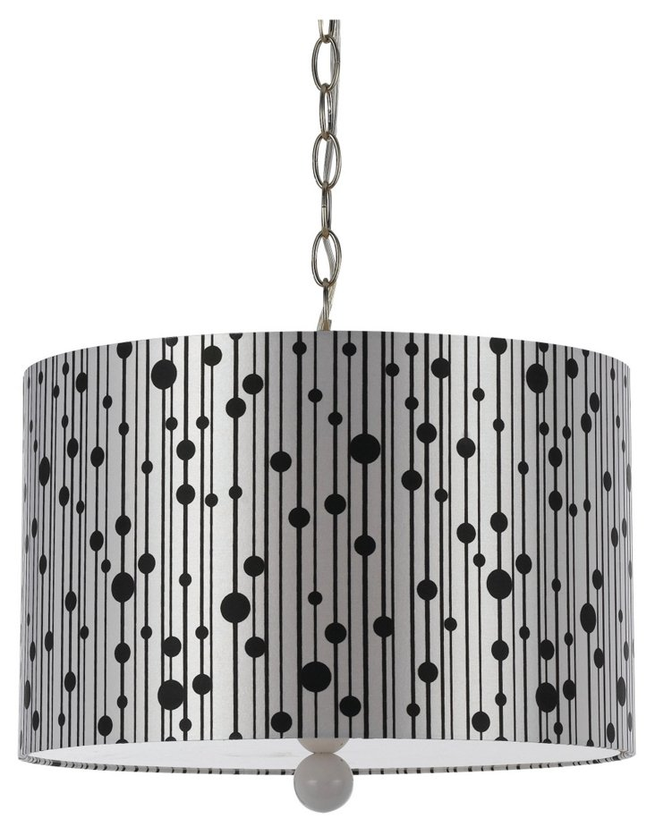 Drizzle 3-Light Pendant, White