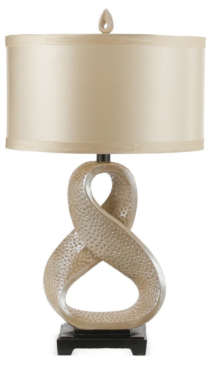 Blanca Pearl Table Lamp, Pearlized