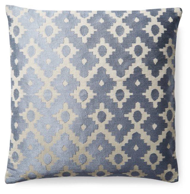 Carnival 20x20 Linen Pillow, Gray