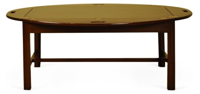 "Regency 48"" Drop-Leaf Coffee Table"