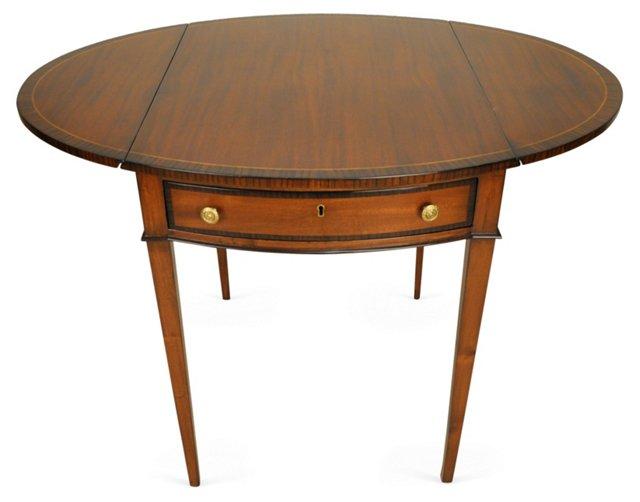 DNU,dogGeorge Drop-Leaf Table