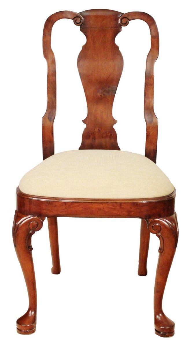 Clifford Side Chair, Cream