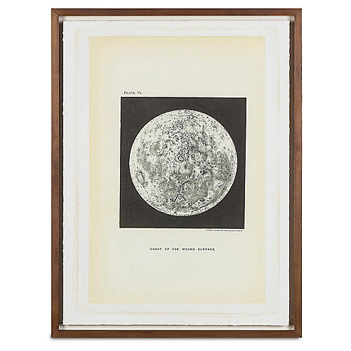 Jean Pierre, Chart of The Moon's Surface