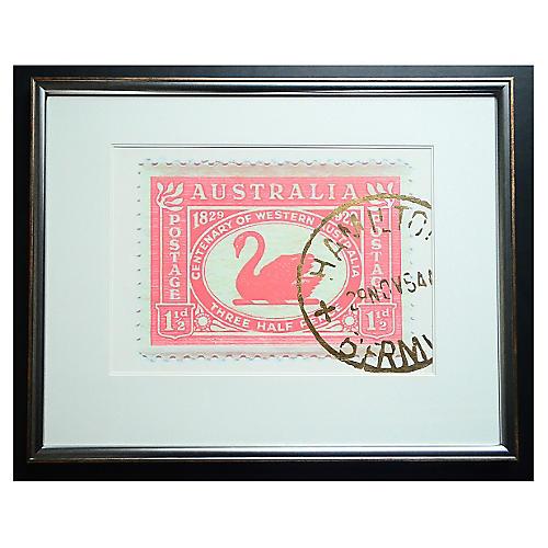 Jean Pierre, Postage Stamp - Swan