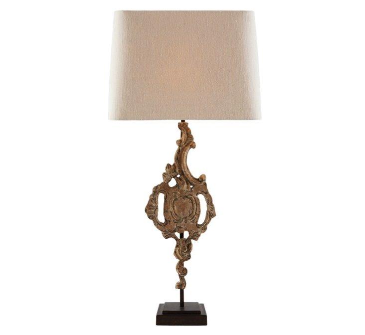 Peyton Table Lamp, Tan