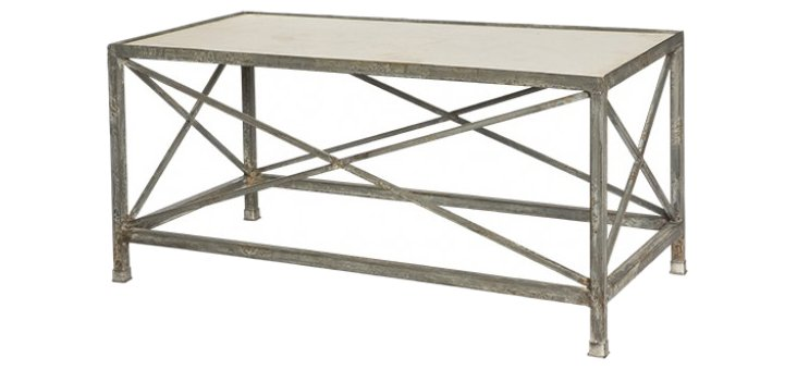 Pierce Rustic Console Table