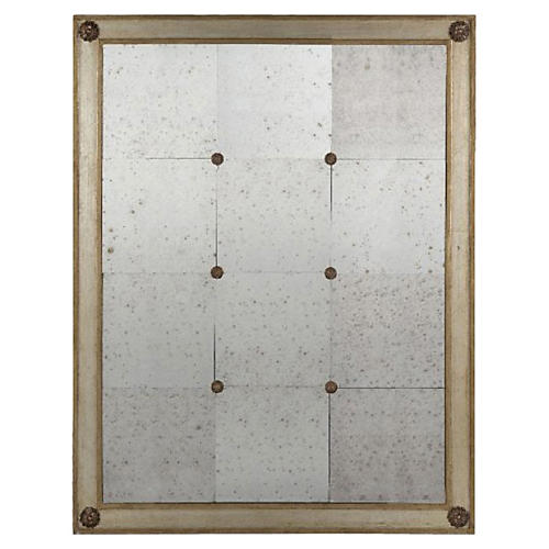 Costa Wall Mirror, Silver/Gold