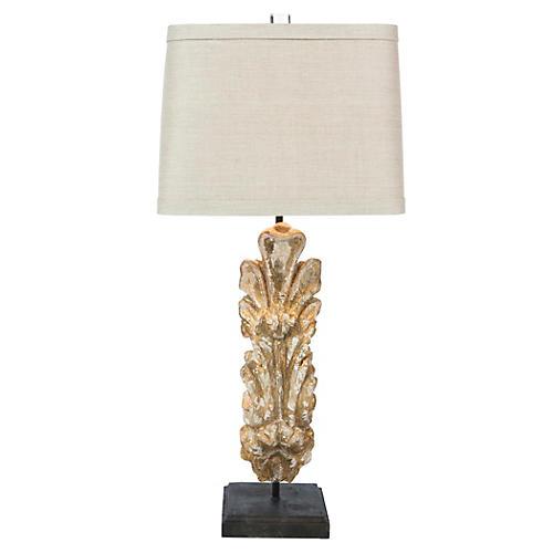Sherman Table Lamp, Gold