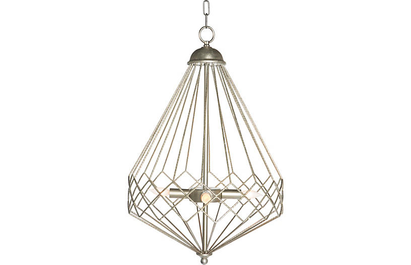 Church Droplet Chandelier Silver Ceiling Lights Fans Indoor And Outdoor Lighting One Kings Lane