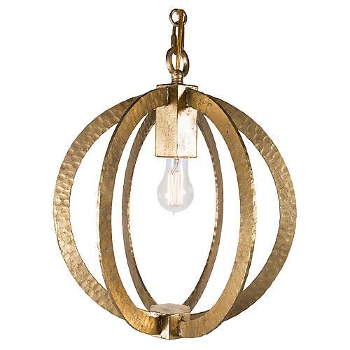Wilkinson Circular Pendant, Gold