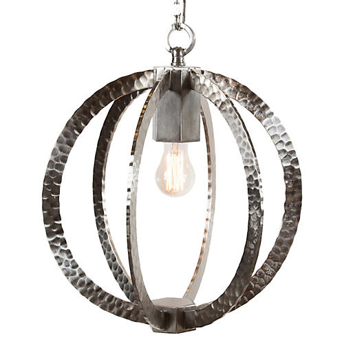 Wilkinson Circular Pendant, Nickel