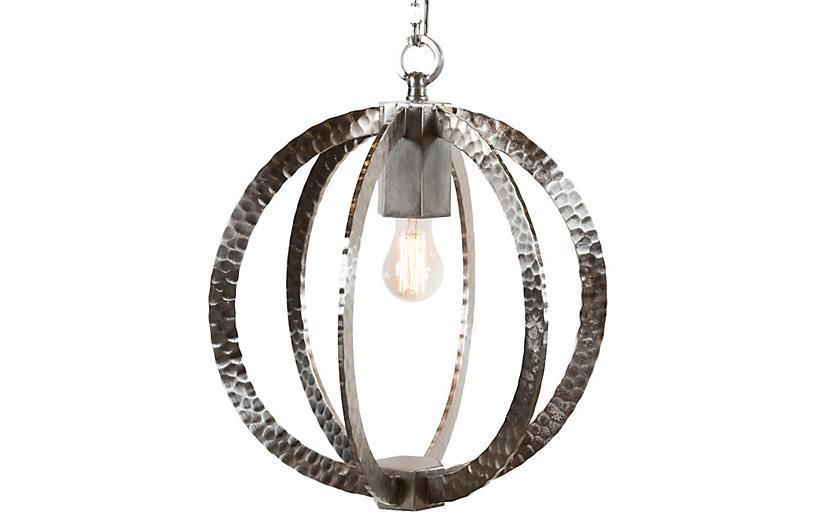 Wilkinson Circular Pendant, Nickel