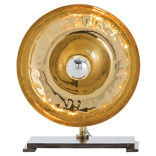 Elliot Small Table Lamp, Brass/Bronze