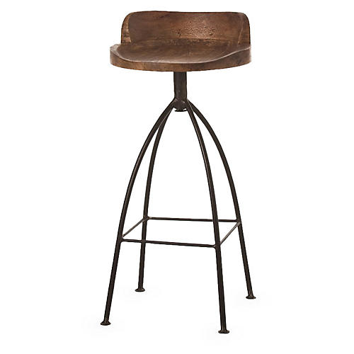 Hinkley Barstool, Brown