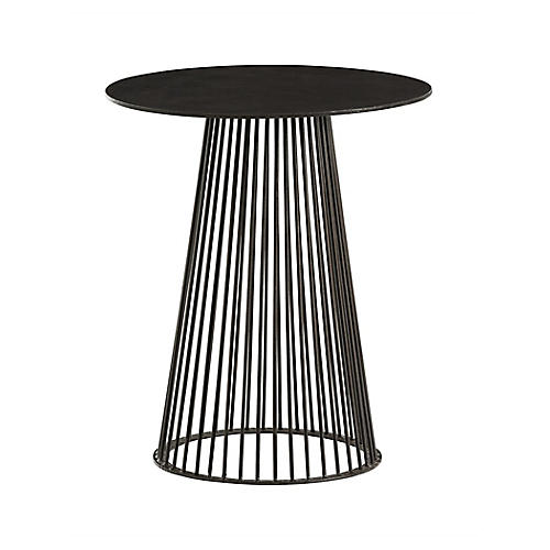 Lou Side Table, Black
