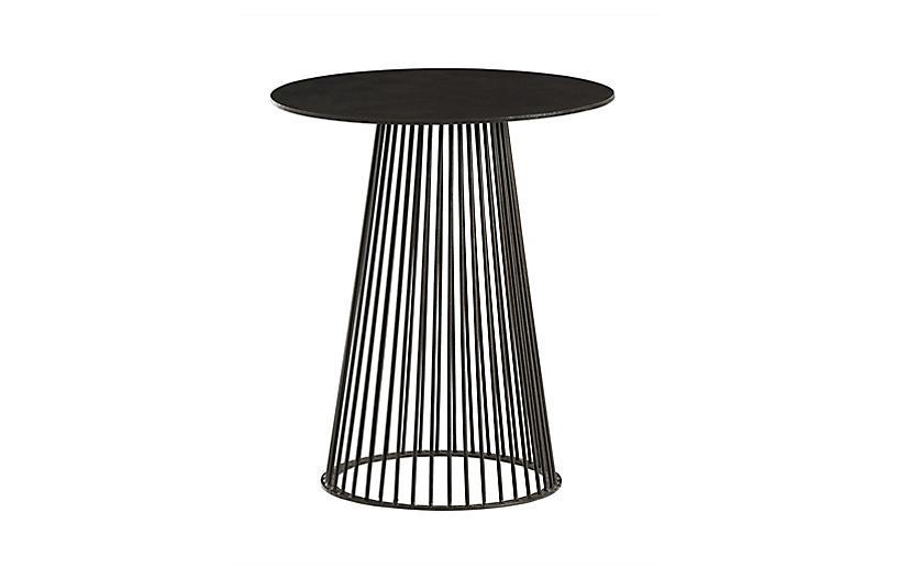 Lou Side Table, Black