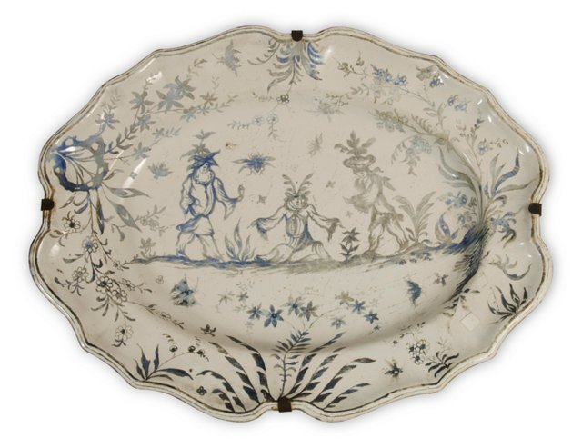 Antique French Platter