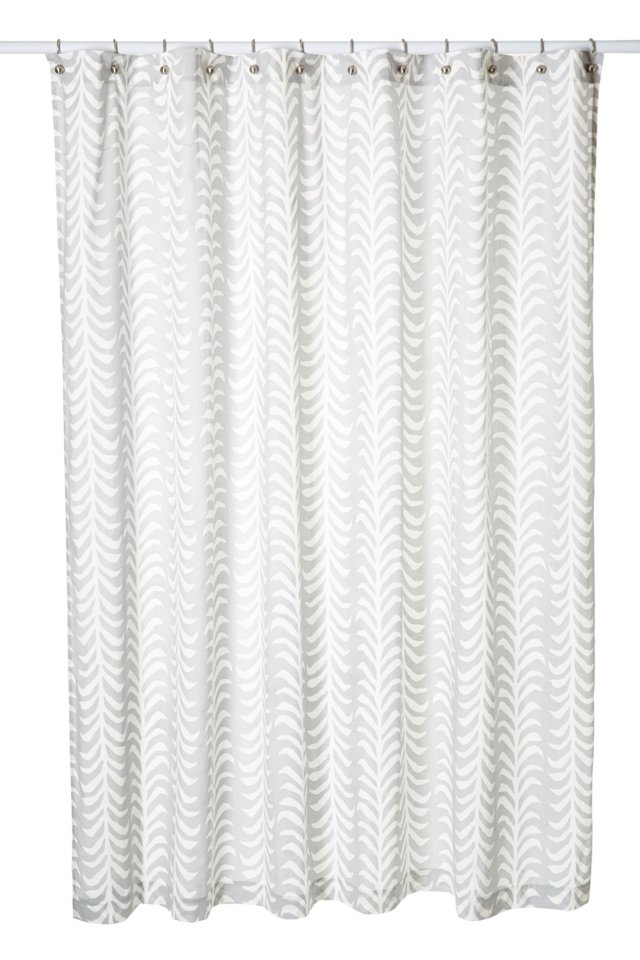 Sprig Shower Curtain, Dove