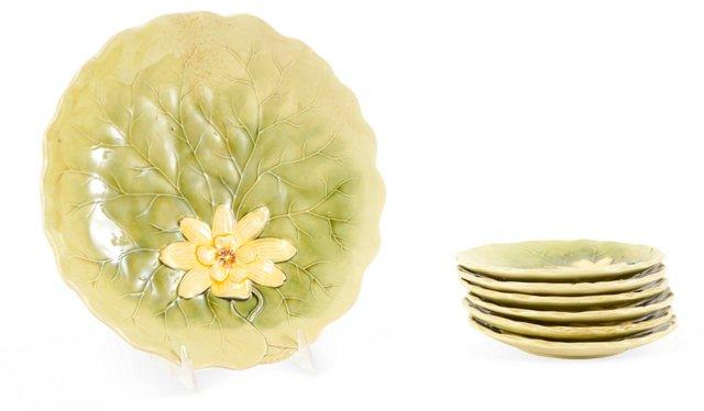 Lily Pad Tea Set, 7 Pcs