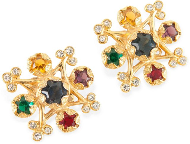 Vintage YSL Couture Earrings