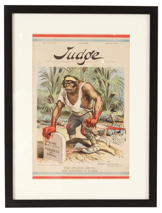 Framed Judge Journal Front Page