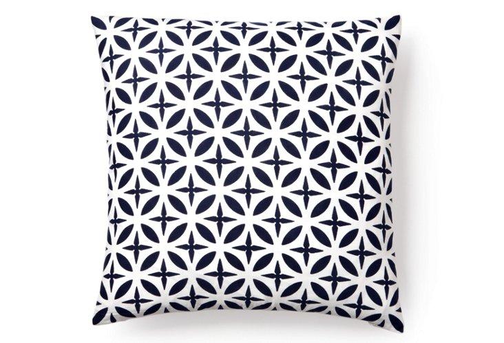 Troy 20x20 Pillow, Navy
