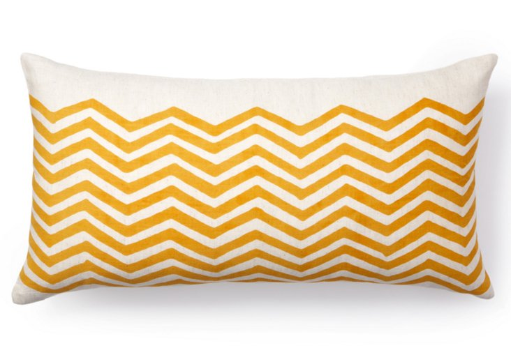 Atlas 12x22 Pillow, Orange